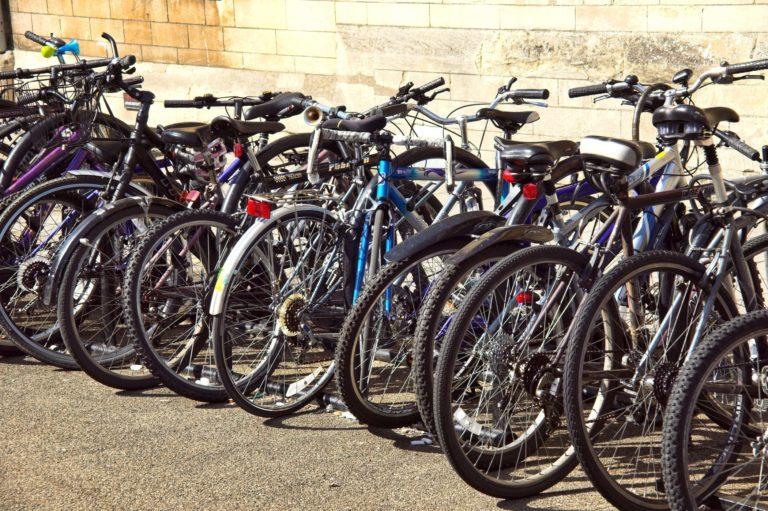 Bicycles at Oxford University