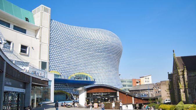 Bullring Shopping Centre Design- Birmingham, UK