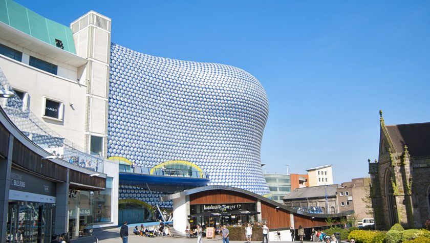 Bullring Shopping Centre Design- Birmingham, UK