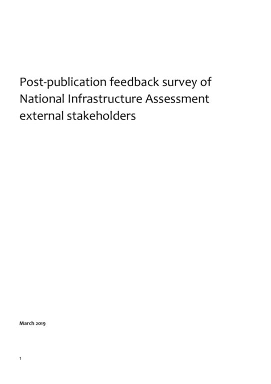 thumbnail of Post-publication feedback survey of NIA external stakeholders