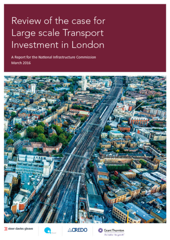 thumbnail of Review of the Case for Large Scale Transport Investment in London