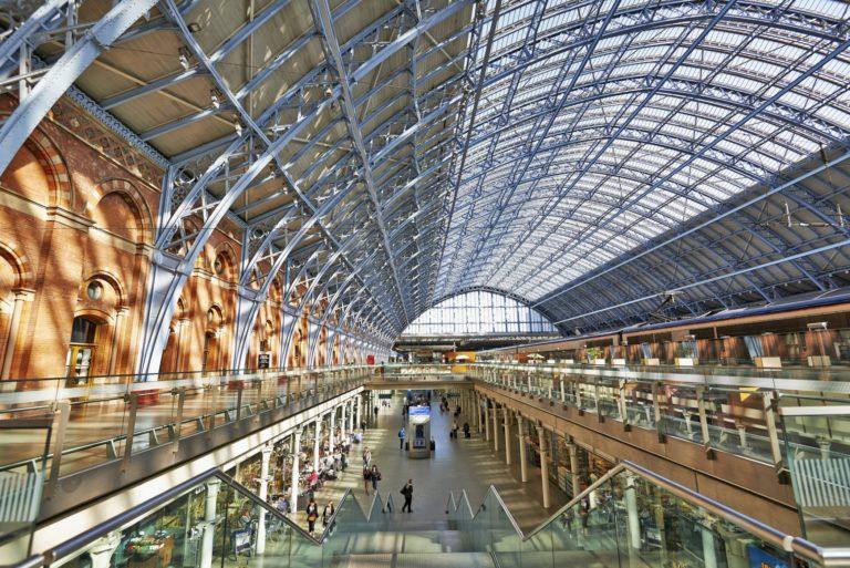 t Pancras Station terminal