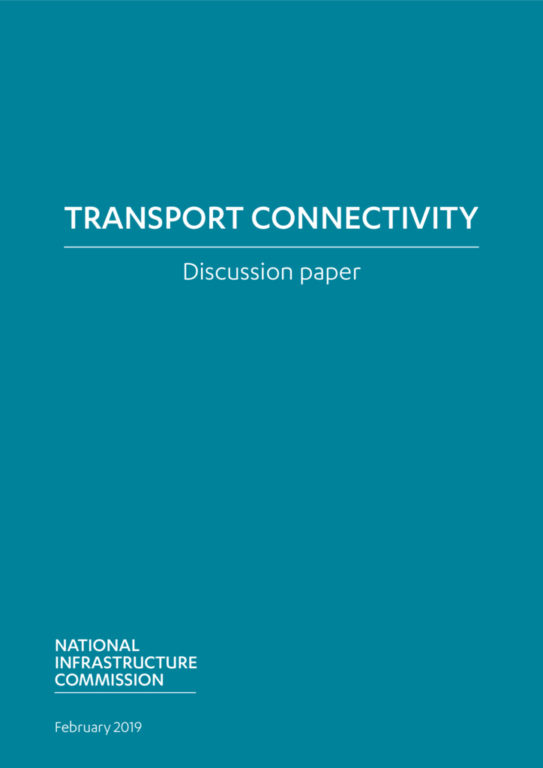 thumbnail of Transport Connectivity discussion paper